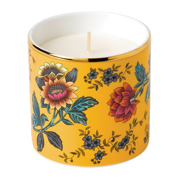 Wonderlust Scented Candle - Yellow Tonquin - Coriander & Orange