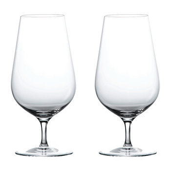 Globe Iced Beverage Glass - Set of 2