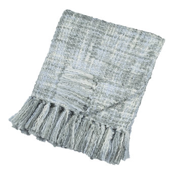 Boucle Throw - 127x152cm - Light Blue