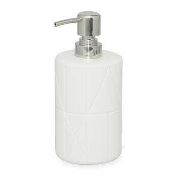 Geometrix Soap Dispenser - White