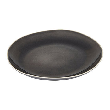 Stoneware Dinner Plate - 28cm - Charcoal