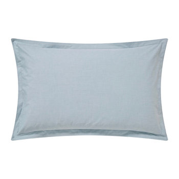 Chambray Oxford Pillowcase - Eucalyptus