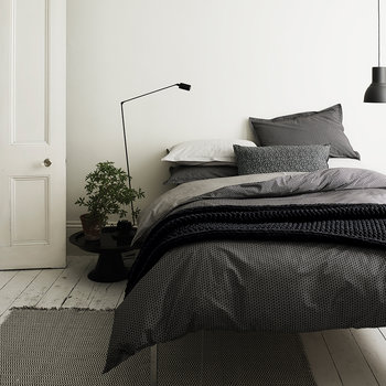 Dansu Duvet Cover - Charcoal