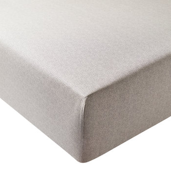 Dansu Fitted Sheet - Charcoal