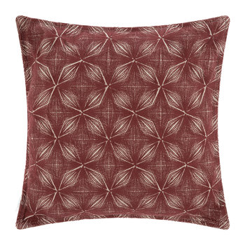 Amur Cushion - 40x40cm - Red