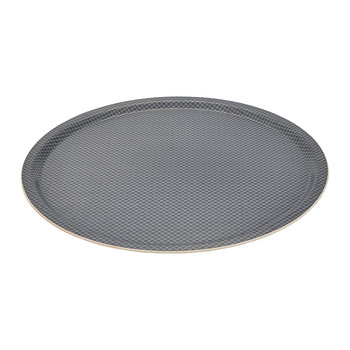 Sora Round Tray - 46cm - Charcoal