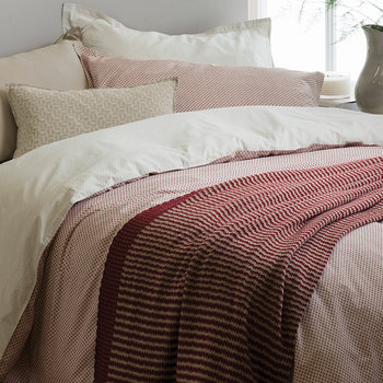 Shimi Duvet Cover - Red