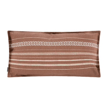 Track Cushion - 70x40cm - Red/Sand