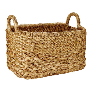 Banana Storage Basket with Handles - Rectangular