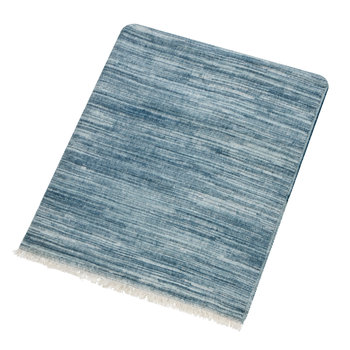 Chaconia Throw - Indigo