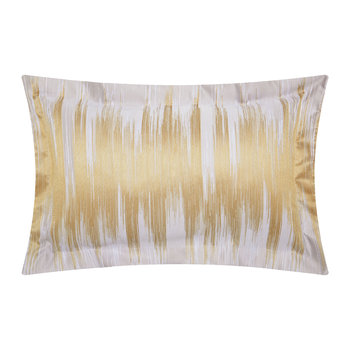 Motion Oxford Pillowcase - Ochre
