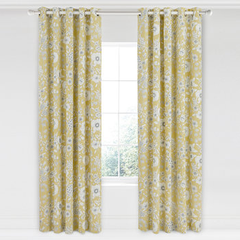 Maelee Lined Curtains - 168x229cm - Sunshine