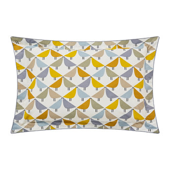 Lintu Oxford Pillowcase - Dandelion & Pebble
