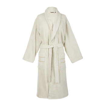 Gold New Shawl Bathrobe - Sand