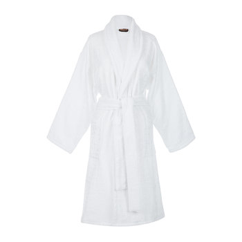 Cocco Shawl Bathrobe - White
