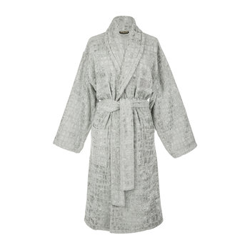 Cocco Shawl Bathrobe - Grey