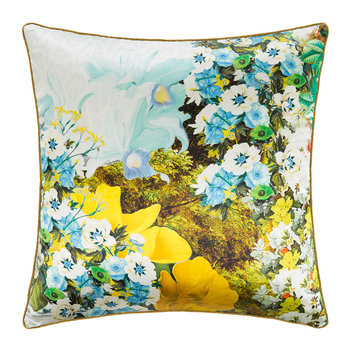 Flonature Silk Pillow - Green