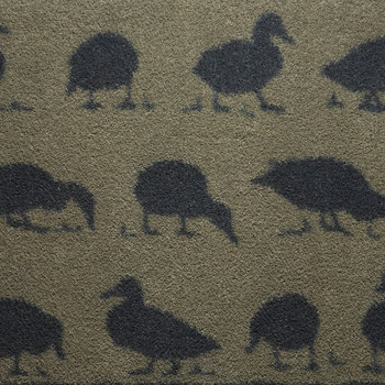 Ducks Washable Recycled Door Mat - 65x85cm