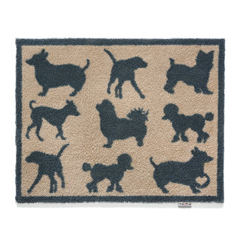 Pet Collection Door Mat - Pet 31 - Dog Silhouettes