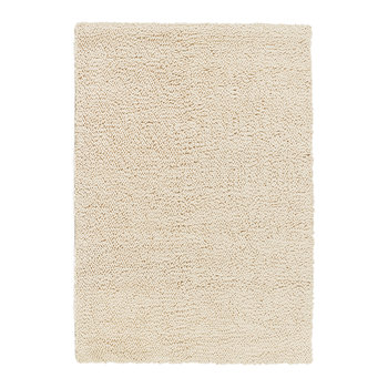 Union Hand Woven Wool Rug - 120x170cm - Ivory