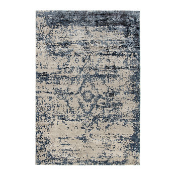 Persia Hand Loom Woven Rug - 120x170cm - Midnight/Oyster