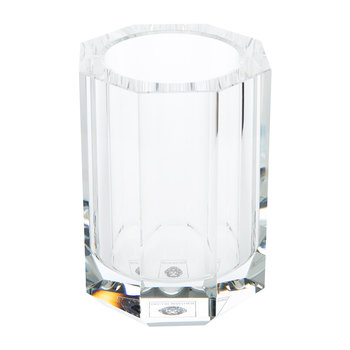 KR BER Kristall Toothbrush Holder - Crystal Clear