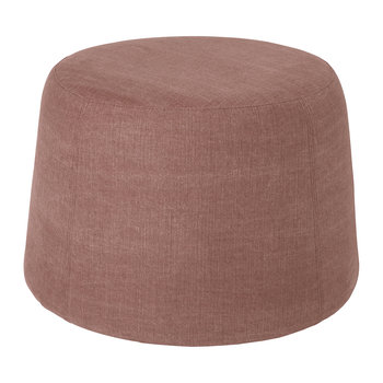 Pouf air - 65x44cm - Rose crayon