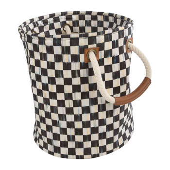 Courtly Check Storage Tote