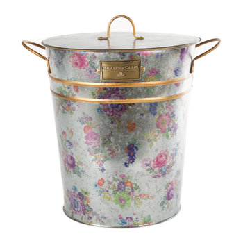 Flower Market Lidded Ice Bucket & Scoop