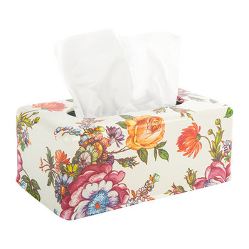 Flower Market Tissue Box Cover