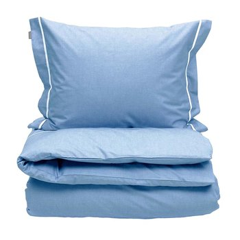 New Oxford Duvet Cover - Capri Blue