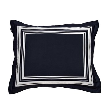 White Frame Pillowcase - 50x75cm - Sateen Blue