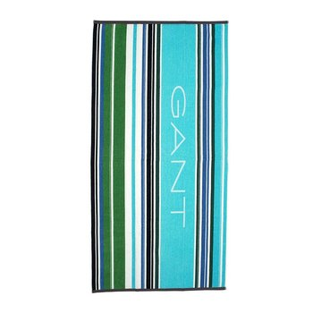 Jolly Stripe Beach Towel - Topaz Blue