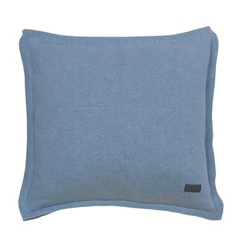 Top Star Knitted Cushion - 50x50cm - Waves