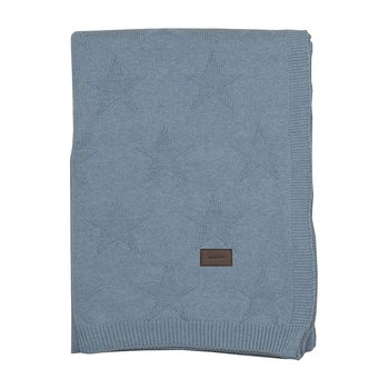 Top Star Knitted Throw - Waves