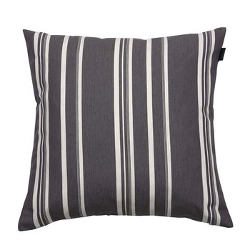 Strip Stripe Cushion - 50x50cm - Elephant Grey