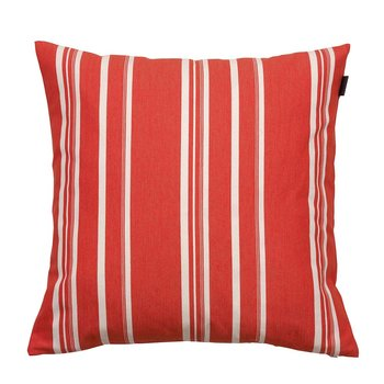 Strip Stripe Cushion - 50x50cm - Apricot Blush