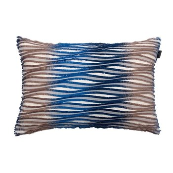 Frizz Cushion - 40x60cm - Indigo Blue
