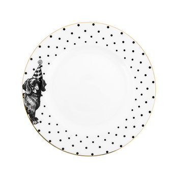 Monochrome Party Pup Side Plate