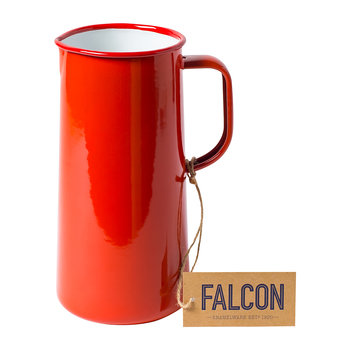 Pillarbox Red Enamel Jug - 3 Pints