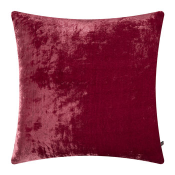 Paddy Velvet Cushion - 50x50cm - Raspberry