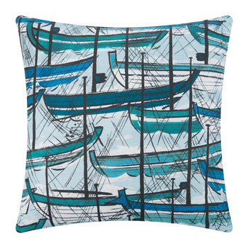 Plymton Cushion - 60x60cm - Ocean