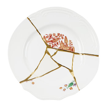 Kintsugi Dinner Plate - Design 1