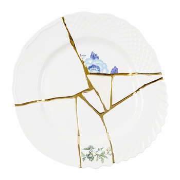 Kintsugi Dinner Plate - Design 3