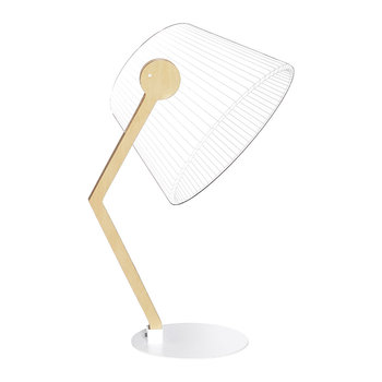 Ziggi Dimmable Lamp - by BULBING - Natural