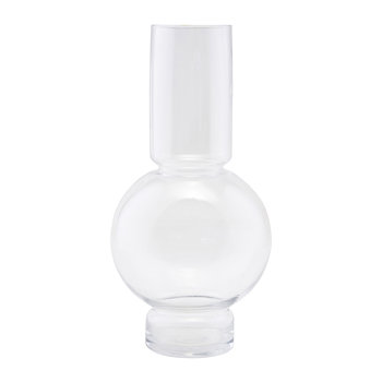 Bubble Vase - Glass - Clear
