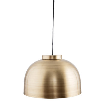Bowl Ceiling Light - Brass