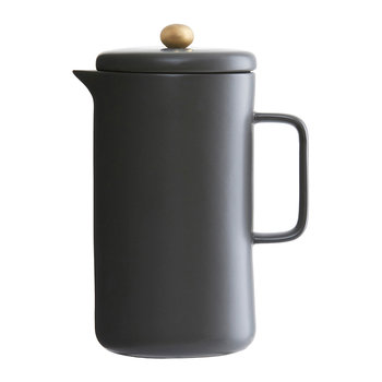 Coffee Pot - 20cm - Black