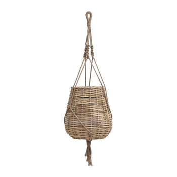 Hanging Woven Planter - Large
