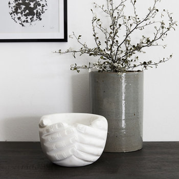 Hands Bowl - Marble